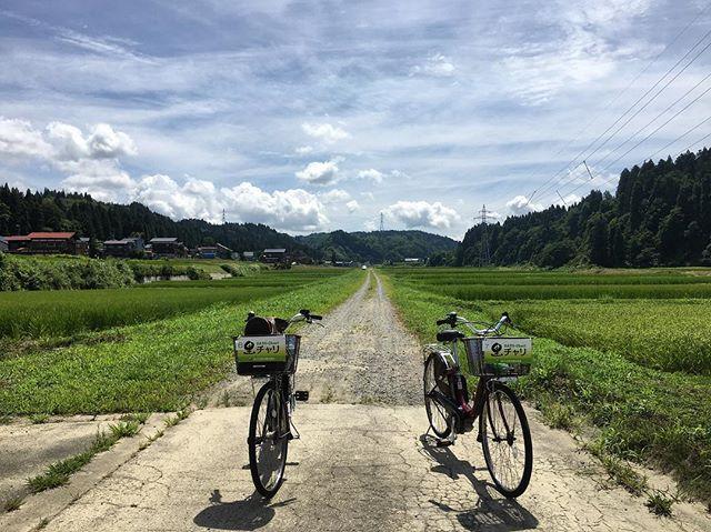 清津峡入口で自転車レンタルを行います‼